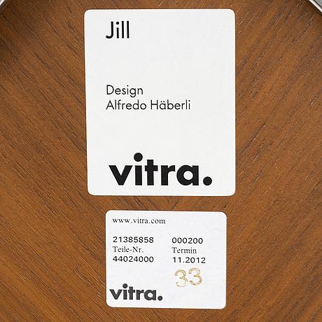 Alfredo hÄberli, six 'jill' chairs, vitra, 2012.