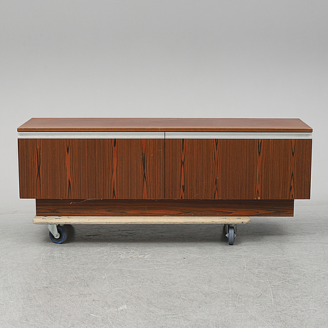 A rosewood veneered sideboard, bagn möbelindustri, norway, 1960's.