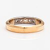 A 14k gold ring with diamonds ca. 0.33 ct in total.