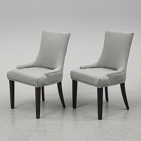 """Safavieh, a set of 6 """"abby"""" chairs, 21st century."""