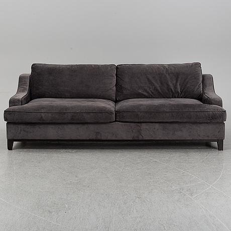 A layered sofa, 21st century.