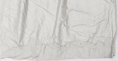 A pair of velvet curatins, 21st century. measurement 260x326 cm.
