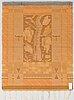 Katri warÉn, a finnish long pile rug for neovius. circa 150x115 cm.
