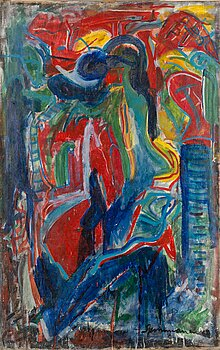 ARVO SUMMANEN, oil on canvas, signed and dated -60.
