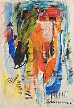 ARVO SUMMANEN, oil on canvas, signed and dated -61.