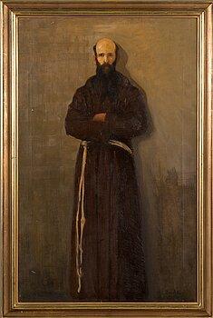 OSKAR PARVIAINEN, oil on canvas, signed.