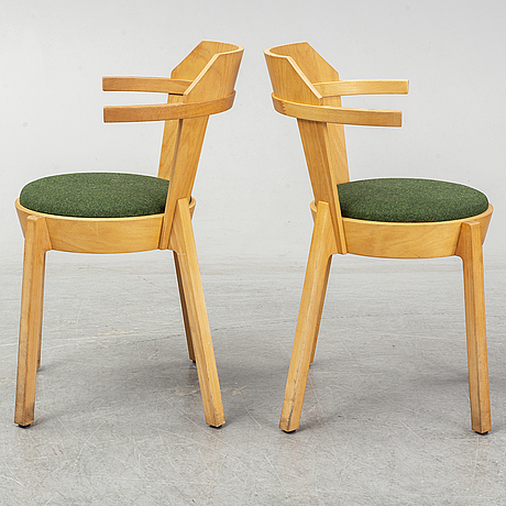 Uglycute, eight 'stalker' chairs, woodstockholm.
