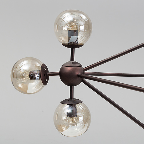 A chandalier, 21st century.