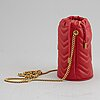 Gucci, 'marmont leather bucket bag'.