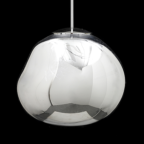 Tom dixon, a 'melt' ceiling lamp.