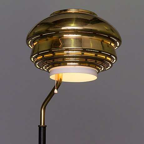 Alvar aalto, a 'a808' floor lamp for valaistustyö.