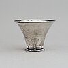 Gab, a footed silver bowl, stockholm, 1928.