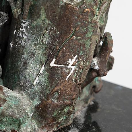 Jorma lehtonen, brons, signerad, otydligt daterad.