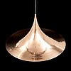 A 'semi' pendant in copper, bonderup and torsten thorup, gubi, denmark.