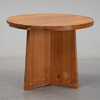A pine table, possibly for Nordiska Kompaniet, mid 1900's.
