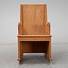 """Axel einar hjorth, a rocking chair, version of the  """"lovö"""" model, mid 1900's."""