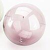 Timo sarpaneva, 3 glass balls, 'aurinkopallo'  iittala, 1970's.