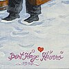 Bert hÅge hÄverÖ, olja på duk, signerad bert håge häverö och daterad 1990.