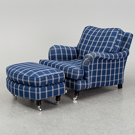 A easy chair with foot rest from englesson.