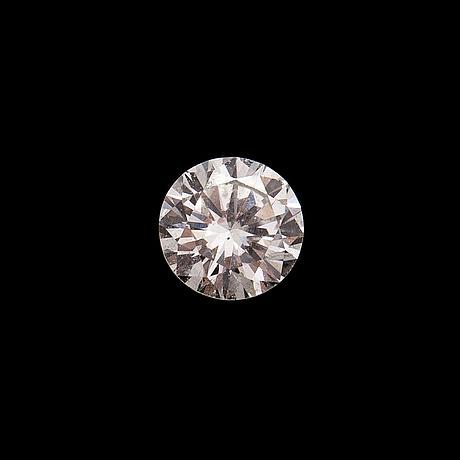 Brilliant cut diamond, ca. 0.10 ct.