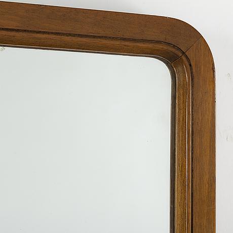A 1940s swedish modern mirror.