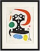 Joan miró, etching with aquatint, signed and numbered xxii/xxxiv.