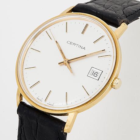 Certina, wristwatch, 34 mm,