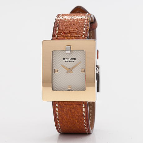 HermÈs, belt, wristwatch, 26 x 30 mm.