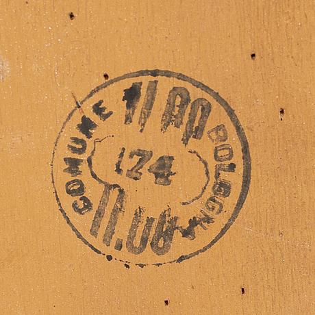 SkrivskÅp, rokokostil, 1900-takets andra hälft.