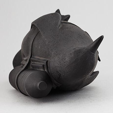 William sweetlove, sculpture, plastic, signed 163/300.