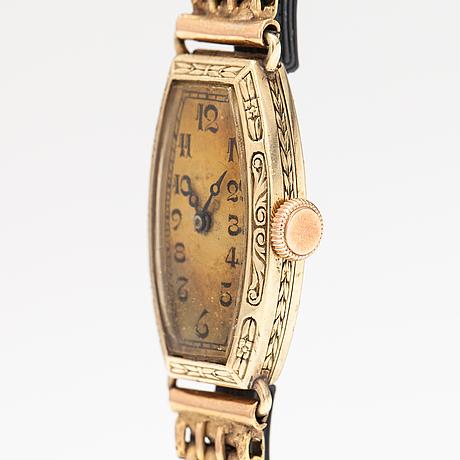Iwc, wristwatch, 14 x 24 mm.