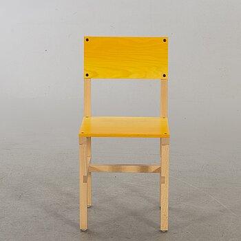 """FREDRIK PAULSEN, """"Röhsska""""Designbaren, chair, Blå Station 2020, Chair 48/102."""