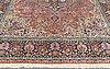Matta, kashmir silke, ca 442 x 306 cm.