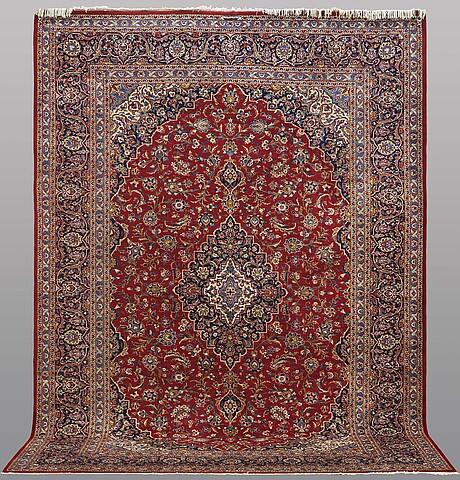 Matta, keshan, semiantik, ca 385 x 273 cm.