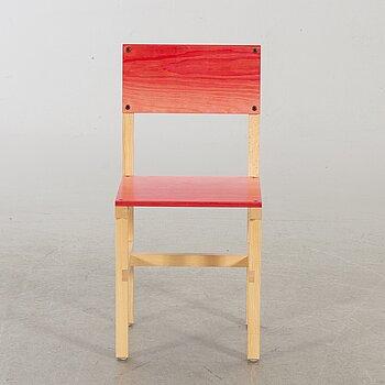 """FREDRIK PAULSEN, """"Röhsska""""Designbaren, chair, Blå Station 2020, Chair 64/102."""