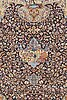 Matta, kashmar figural, ca 377 x 304 cm.