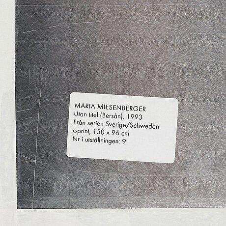"""Maria miesenberger, """"utan titel (bersån)"""", 1993."""