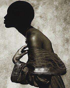 "1. Albert Watson, ""Naomi Campbell, Palm Springs, 1989""."
