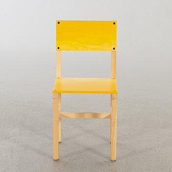 """FREDRIK PAULSEN, """"Röhsska""""Designbaren, chair, Blå Station 2020, Chair 46/102."""
