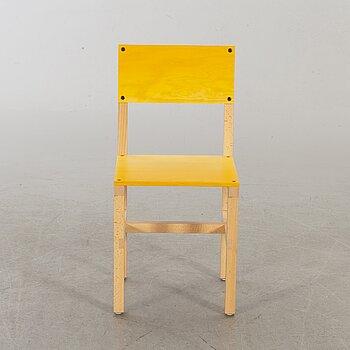 """FREDRIK PAULSEN, """"Röhsska""""Designbaren, chair, Blå Station 2020, Chair 61/102."""