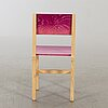 """Fredrik paulsen, """"röhsska""""designbaren, chair, blå station 2020, chair 16/102."""