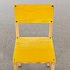 """Fredrik paulsen, """"röhsska""""designbaren, chair, blå station 2020, chair 81/102."""