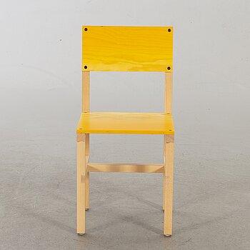 """FREDRIK PAULSEN, """"Röhsska""""Designbaren, chair, Blå Station 2020, Chair 73/102."""