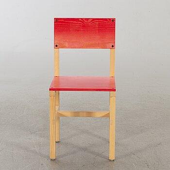"""FREDRIK PAULSEN, """"Röhsska""""Designbaren, chair, Blå Station 2020, Chair 80/102."""