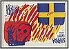 Johan de geer, färgserigrafi, signerad carl johan de geer och numrerad 32/190 med blyerts.