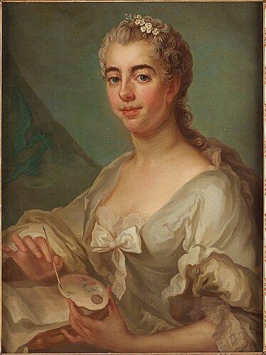 """Jakob björck, """"ulrika sofia adlerfelt"""", (née wrede-sparre af sundby) (1736-1765)."""