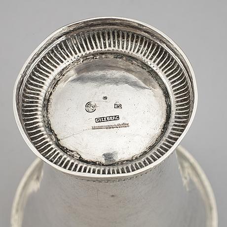 BÄgare, silver, petter gillberg, varberg 1787.