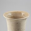 A chinese ceramic vase, 20th century.