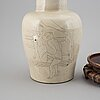 A chinese ceramic vase, 20th century.