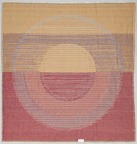 "Matta/ ryamatta, ""panton ring"", højer eksport wilton. danmark 1960-tal. ca 255x245 cm."